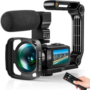 Video Camera Ultra 2.7K Camcorder