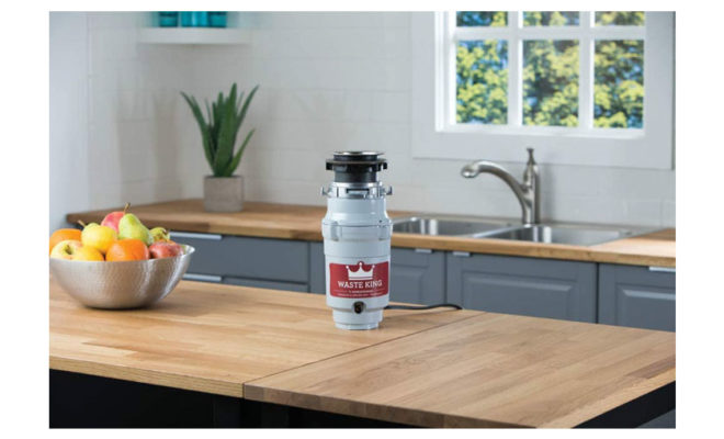 Waste King L-1001 Garbage Disposal with Power Cord