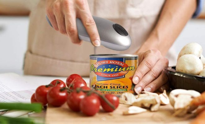 2020 Upgraded Smooth Edge Automatic Can Opener