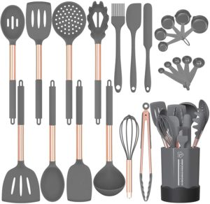 Fungun 24-piece Silicone Cooking Utensil Set