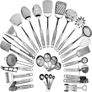 Home Hero 29-Piece Stainless Steel Kitchen Utensil Set