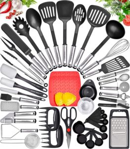 Home Hero 44-Piece Nylon Kitchen Utensil Set