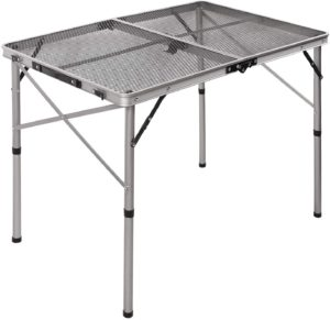 REDCAMP Folding Portable Grill Table for Camping