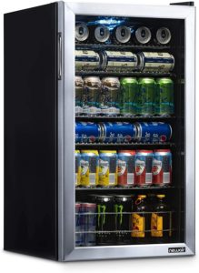 NewAir Beverage Refrigerator Cooler with 126 Can Capacity