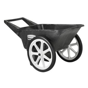Rubbermaid commercial products wheelbarrow