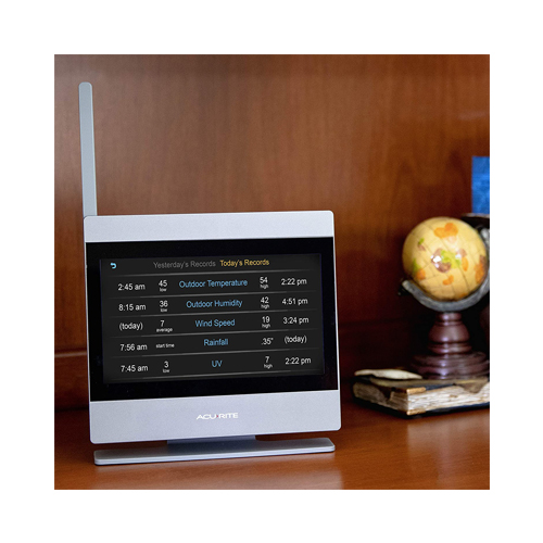 AcuRite Atlas 01007M Weather Station with Temperature and Humidity Gauge