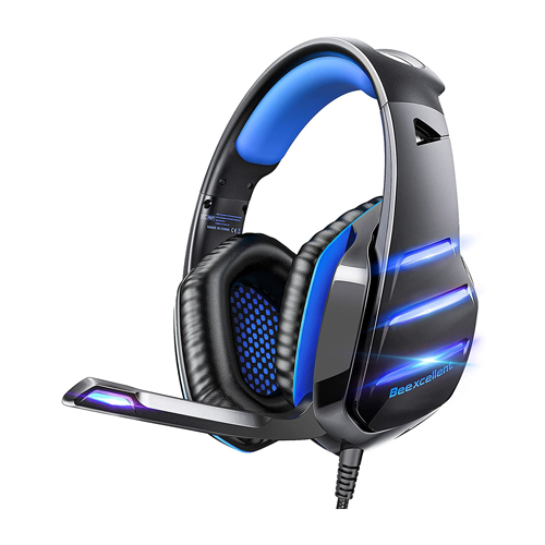 Gaming headset for PS4 Xbox one PS5 controller