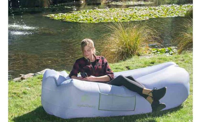 Ideal Inflatable Couch for Pool and Festivals