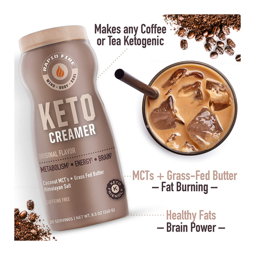 Rapid Fire Ketogenic Creamer with MCT Oil