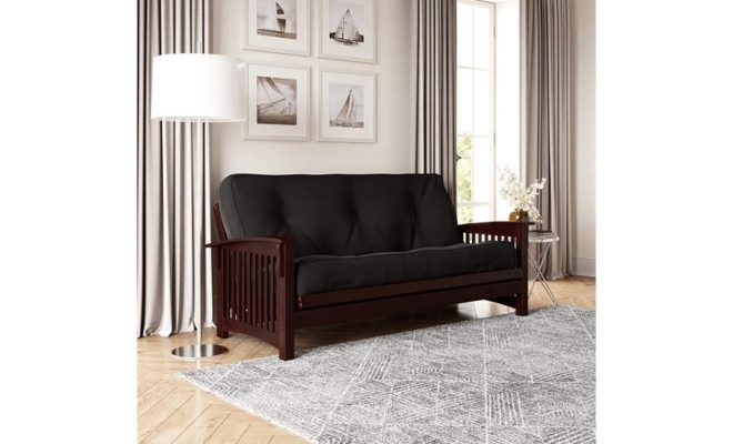 DHP 8 Inch Independently Encased Coil Futon Mattress