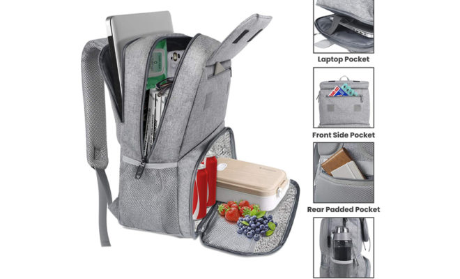 Water Resistant College Computer Bag Fits 15.6 Inch Laptop for Girls