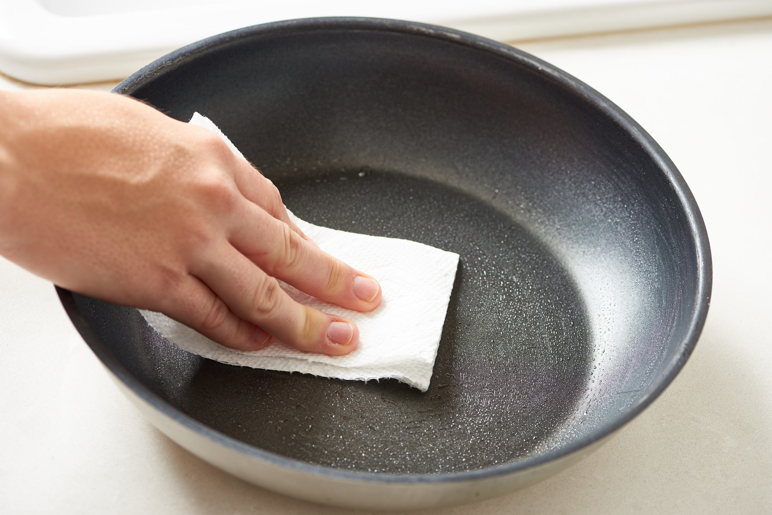 Wiping with Cloth