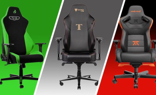 3 gaming chairs