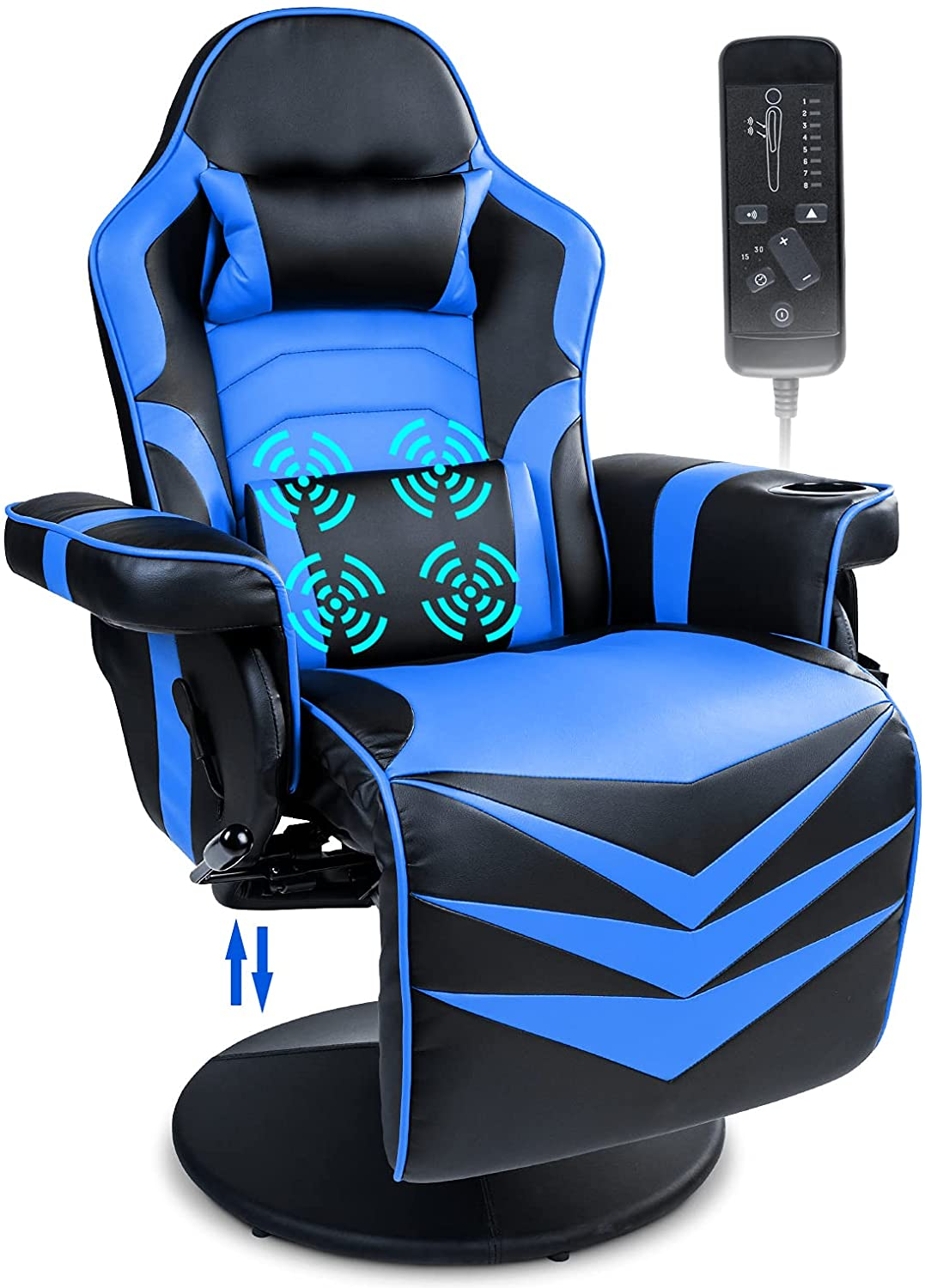 Massage Gaming Recliner Game Chair
