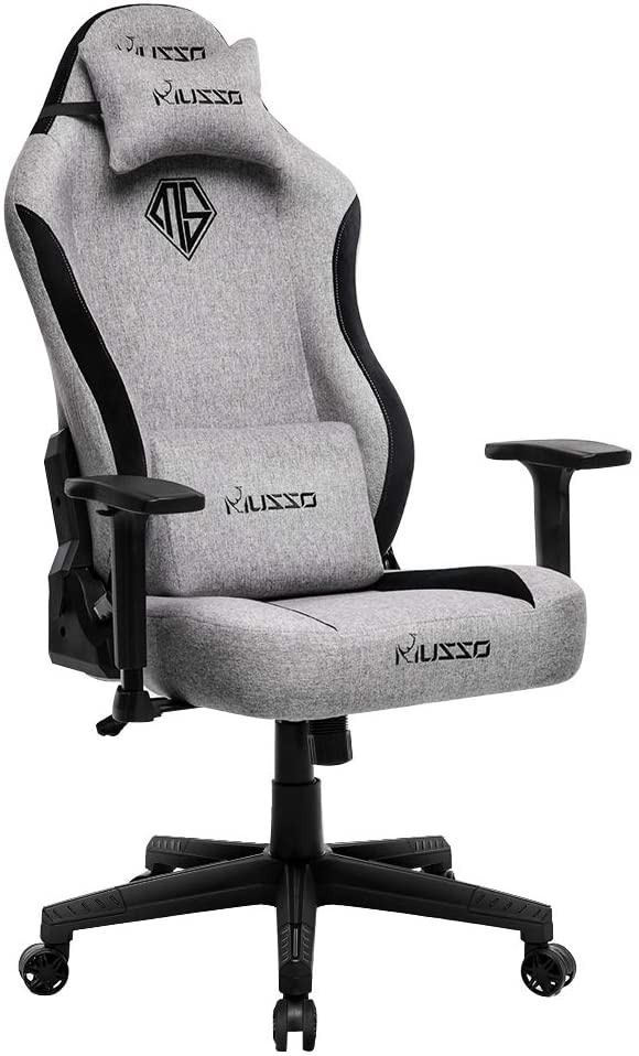Musso Fabric Gaming Chair with Wide Seat