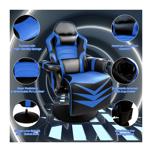 Video Gaming Chair Racing Style
