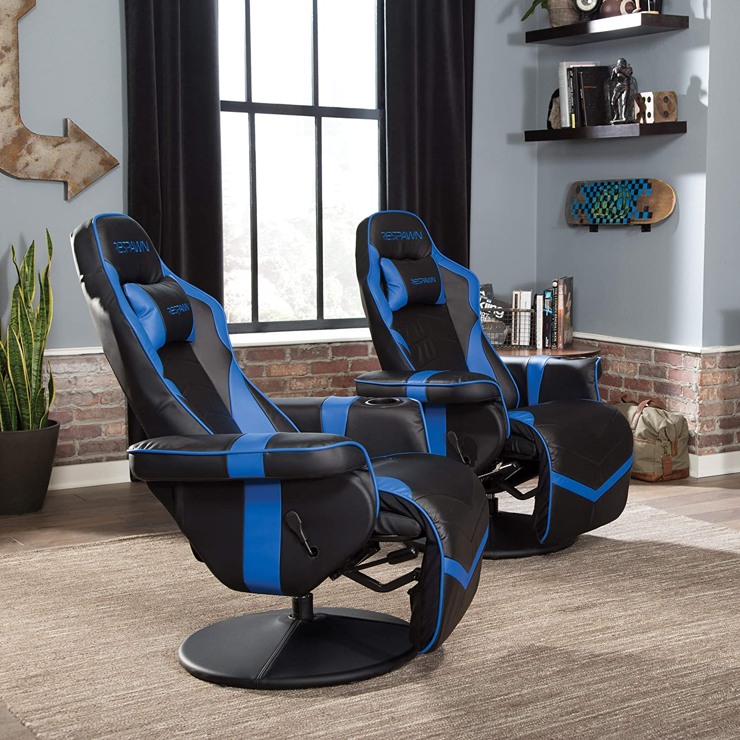 gaming chair with cup holder