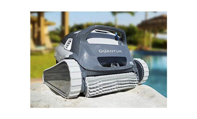 DOLPHIN Quantum Automatic Robotic Pool Cleaner with Extra-Large Filter Basket