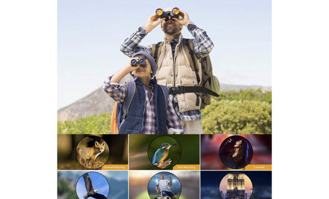 Professional High Definition Large Field of View Binoculars