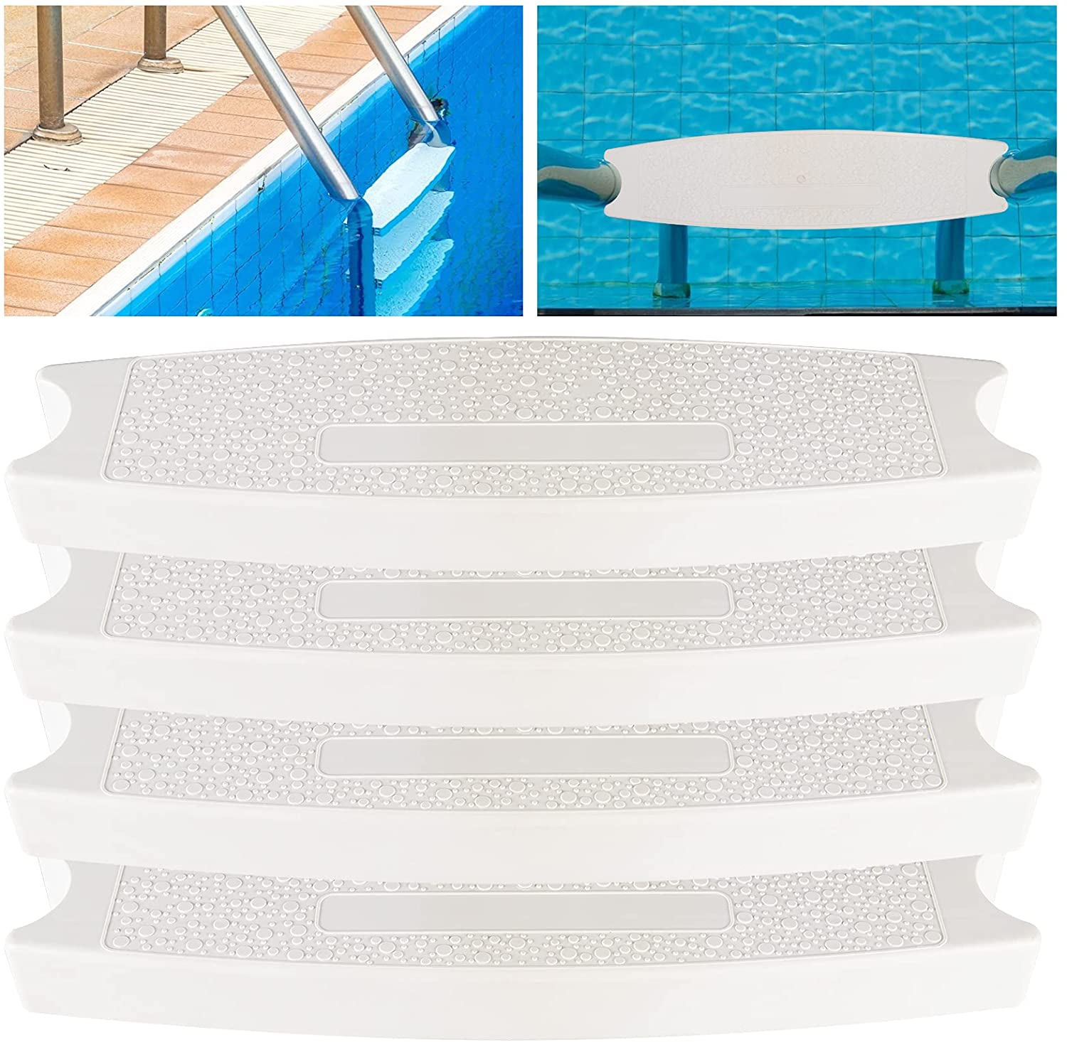 4 Pcs Replacement Pool Ladder Steps