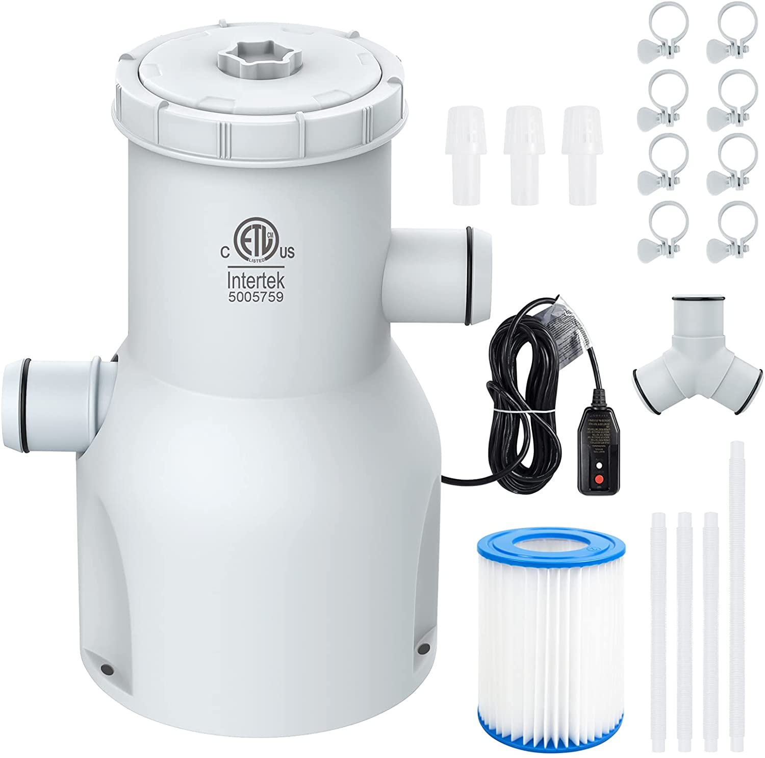 CKE 530 Gallons Pool Filter Pump Above Ground