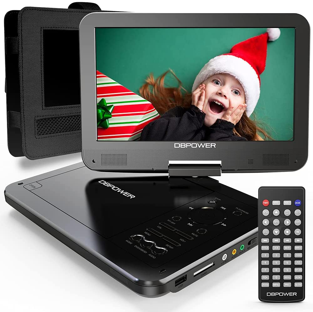 Portable DVD Player with 5-Hour Rechargeable Battery