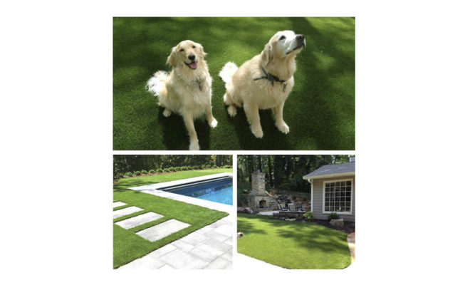 Realistic Synthetic Artificial Grass Turf