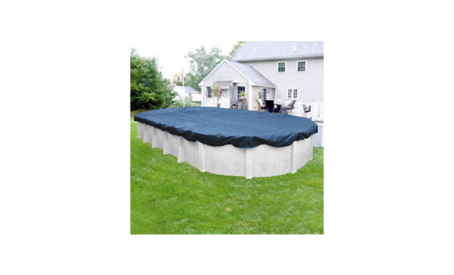 Super Winter Pool Cover for Oval Above Ground Swimming Pools