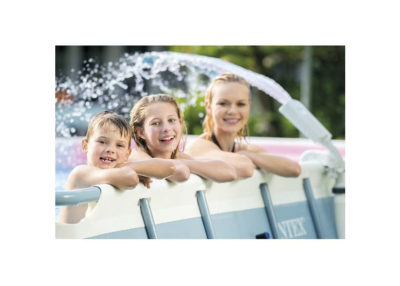Multi-Color LED Pool Fountain for Above Ground Pools